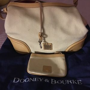 Dooney and Bourke hobo style handbag